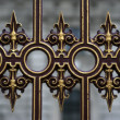 Ornate fence — Stock Photo