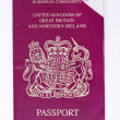 Used passport - Stock Photo