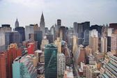 Skyline van manhattan — Stockfoto