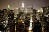 マンハッタンのスカイライン — ストック写真