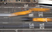 Manhattan street view — Stock Photo