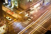 Vista a la calle manhattan — Foto de Stock