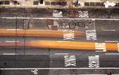 просмотр улиц манхэттена — Стоковое фото
