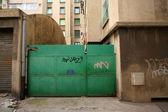 Marsella puerta verde — Foto de Stock