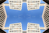 Marseille building pattern — Stock Photo