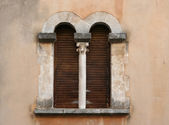 Window martigues — Stock Photo
