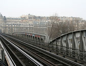 парижский метрополитен — Стоковое фото