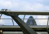 мост миллениум — Стоковое фото