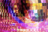 Mirrorball zbliżenie — Zdjęcie stockowe