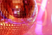 Mirrorball close-up — Foto de Stock