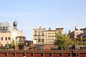 Telhados de nova york — Foto Stock