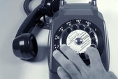 Dialing number — Stock Photo