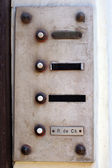 Old buzzer — Stockfoto