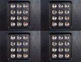Patrón de timbre — Foto de Stock