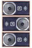 Old found speaker — Stock Photo
