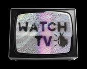 Retro television — Stock Photo