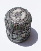 Ornate pot — Stock Photo