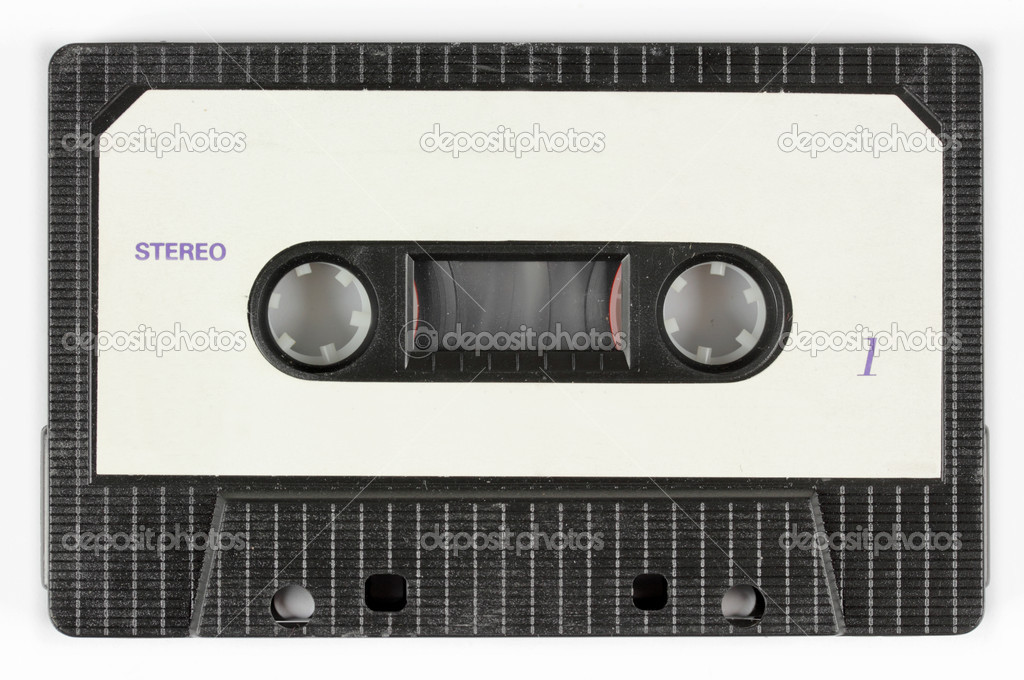 Close-up of a music cassette — Stock Photo #12801168