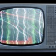 Fuzzy tv — Stock Photo