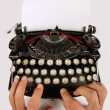 Royalty-Free Stock Photo: Old typewriter