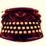 Old typewriter — Stock Photo #12811175