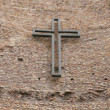 Royalty-Free Stock Photo: Cross on wall