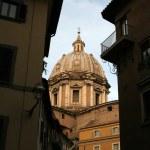 Domed church in rome — Stock Photo #12811717