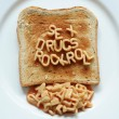 Stock Photo: Sex drugs rock roll toast
