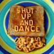 Shut up and dance - Stock Photo