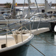 Sitges boat - Stock Photo