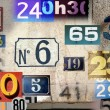 Different house numbers — Stock Photo