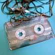 Audio cassette — Foto Stock