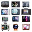 Lots of tvs - Foto Stock