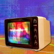 Tv fuzz — Stock Photo