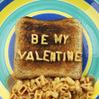 Stock Photo: Be my valentine