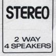 Stereo close-up — Stock Photo