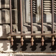 Marseille window grill — Stock Photo