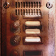 Old buzzer — Stock Photo