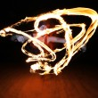 Fire poi - Stock Photo