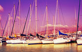 Marseille yachts — Stock Photo