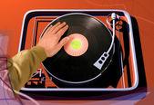 Gramofon — Stock fotografie
