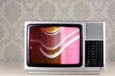 Plata tv — Foto de Stock