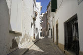 Sitges street — Stock Photo