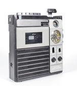 Retro tapeplayer, radyo — Stok fotoğraf