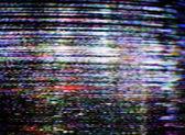 テレビのファズ — ストック写真