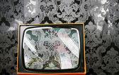 Tv wallpaper — Stockfoto