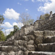 Mayan ruins at Calakmul, Mexico — Foto de Stock