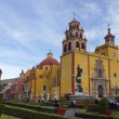 The iconic yellow church in guanajuato, mexico — Foto Stock