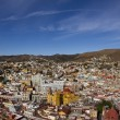 The beautiful skyline of the city of guanajuato, mexico - Stock Photo