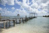 Bacalar lagoon, Mexico — Stock Photo